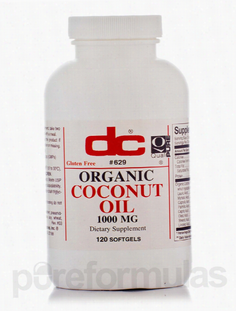 Dee Cee Laboratories Botanical Oils - Organic Coconut Oil - 120