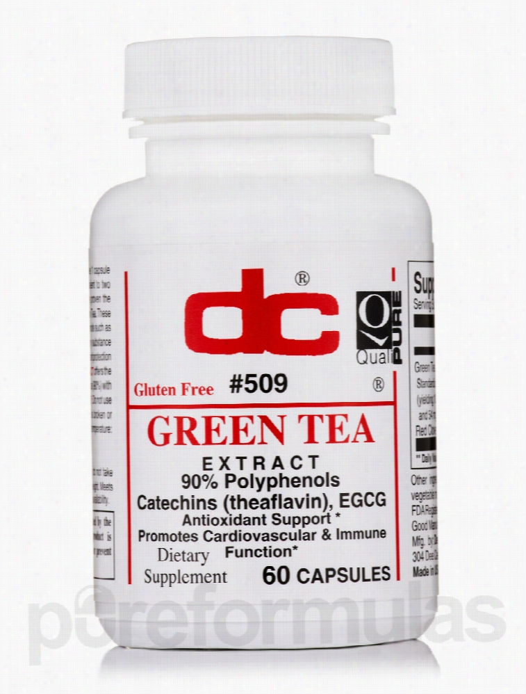 Dee Cee Laboratories Cellular Support - Green Tea Extract - 60