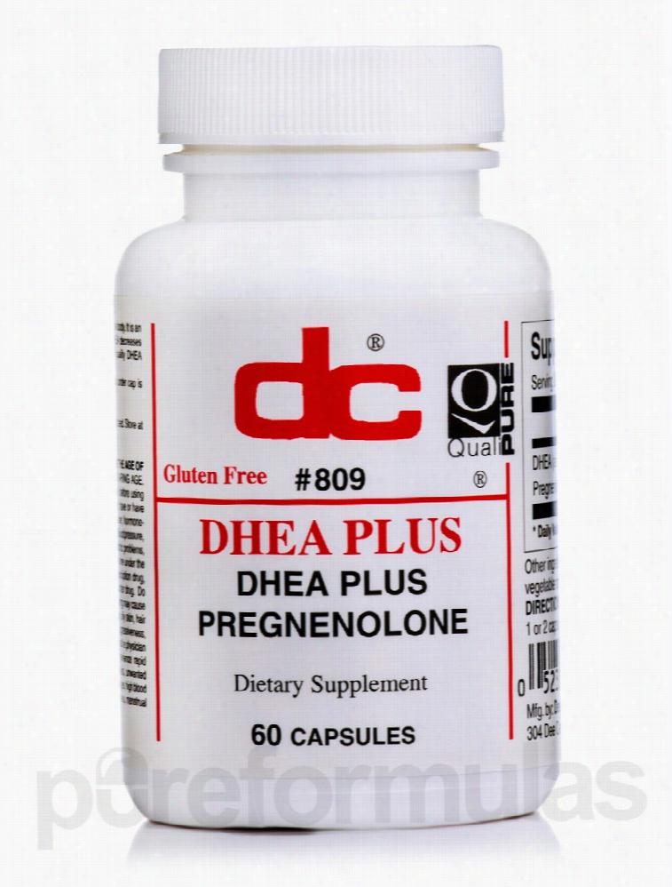 Dee Cee Laboratories Hormone/Glandular Support - DHEA Plus - 60