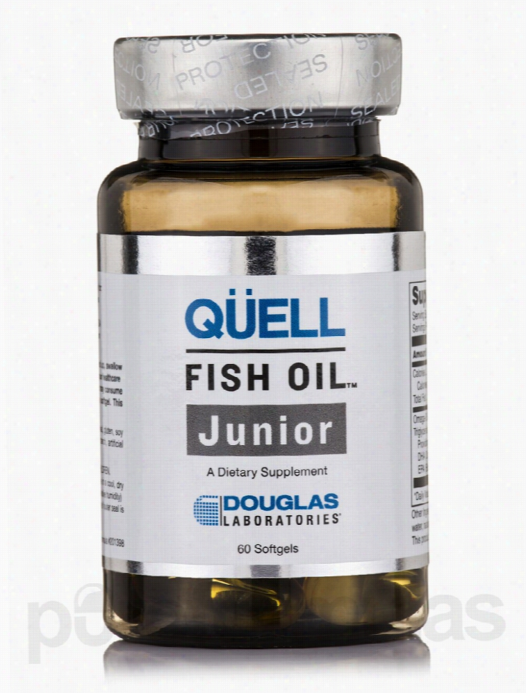 Douglas Laboratories Children's Formulas - Quell Fish Oil Junior - 60