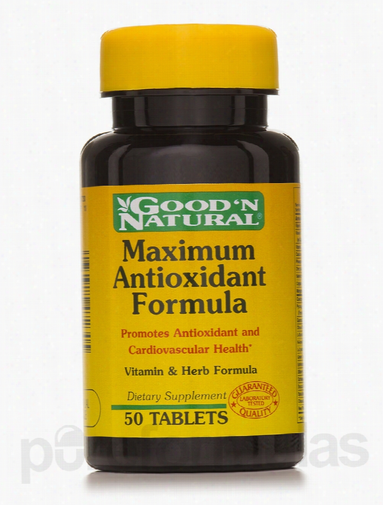 Good and Natural Cardiovascular Support - Maximum Antioxidant Formula