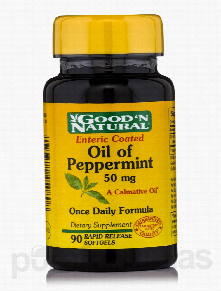 Good and Natural Gastrointestinal/Digestive - Oil of Peppermint 50 mg