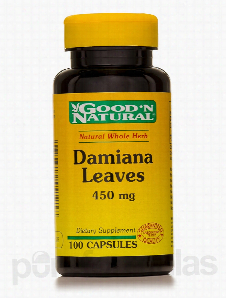 Good and Natural Herbals/Herbal Extracts - Damiana Leaves 450 mg - 100