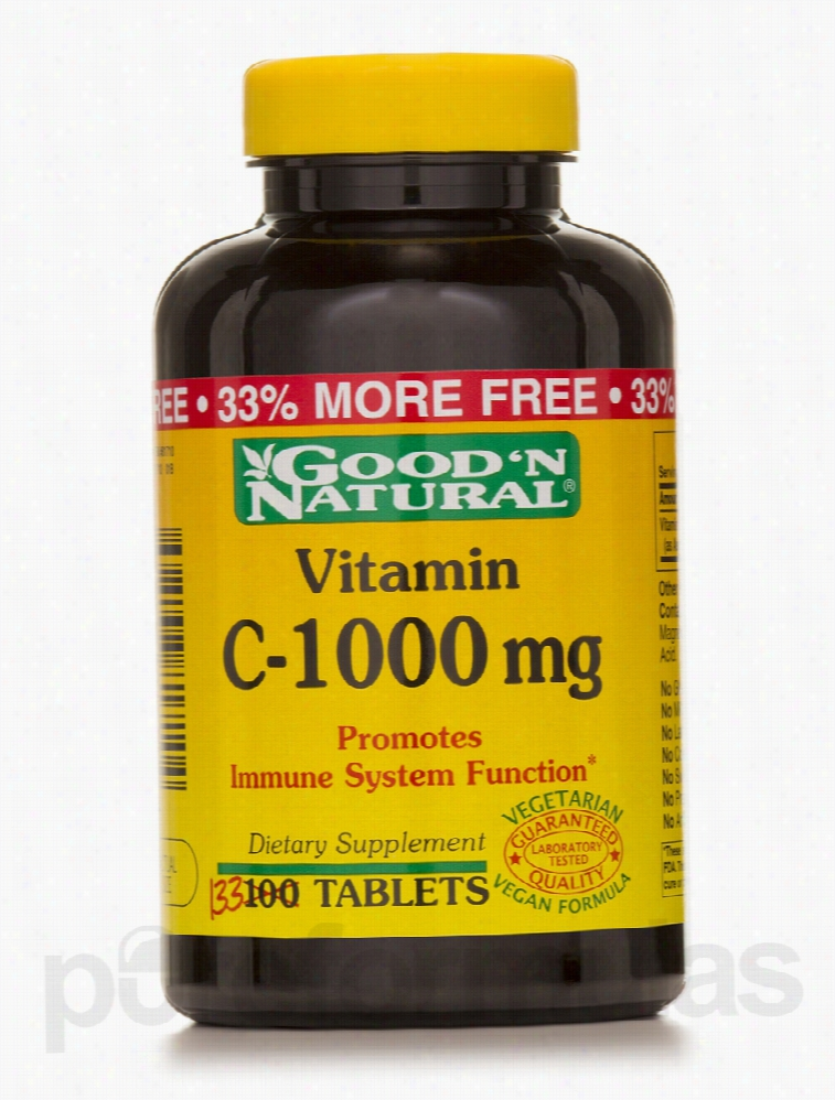 Good and Natural Immune Support - Vitamin C-1000 mg - 133 Tablets