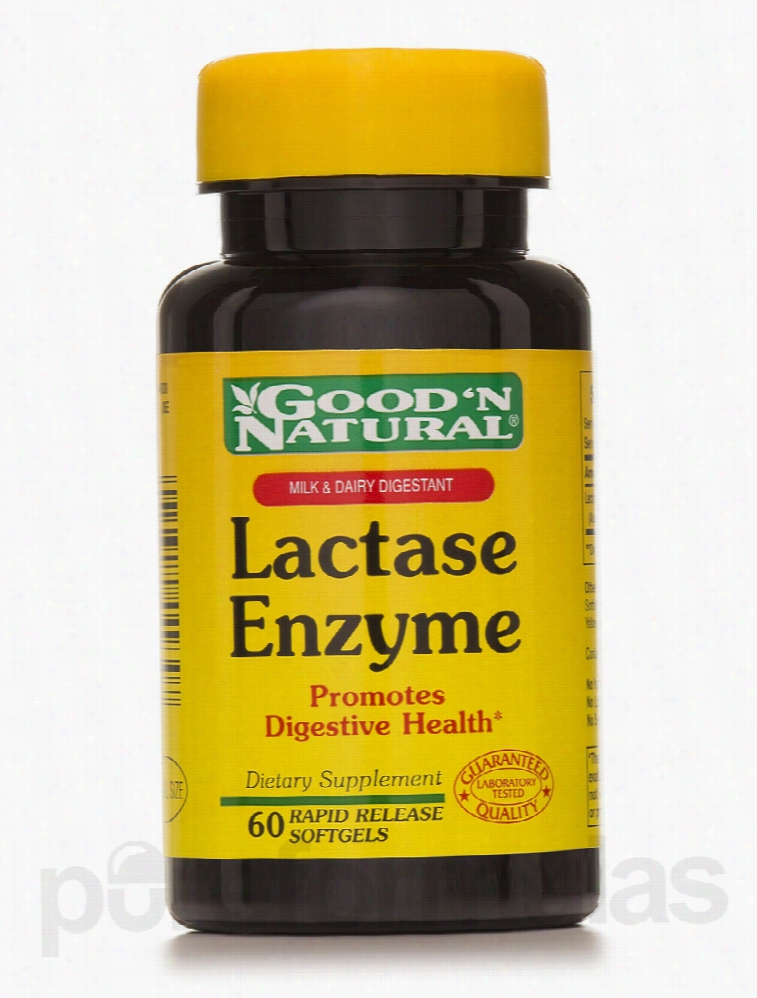Good and Natural Metabolic Support - Lactase Enzyme (Milk and Dairy
