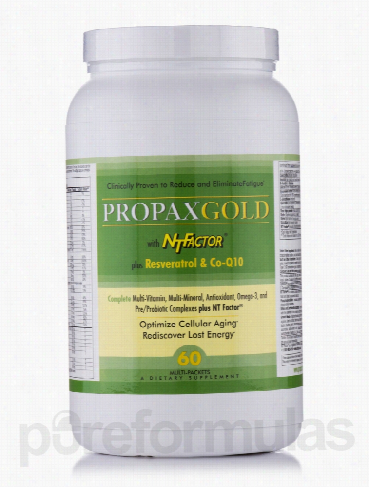 Nutritional Therapeutics Energy Support - PropaxGold with NT Factor -