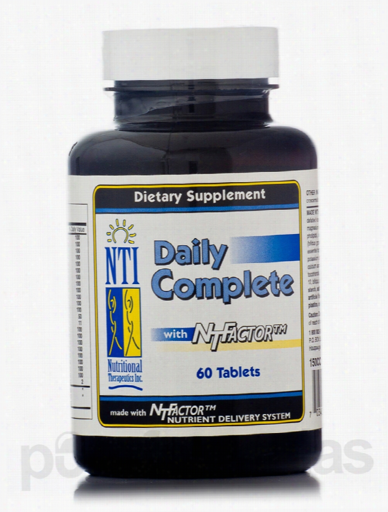 Nutritional Therapeutics Multivitamins - Daily Complete with NT Factor