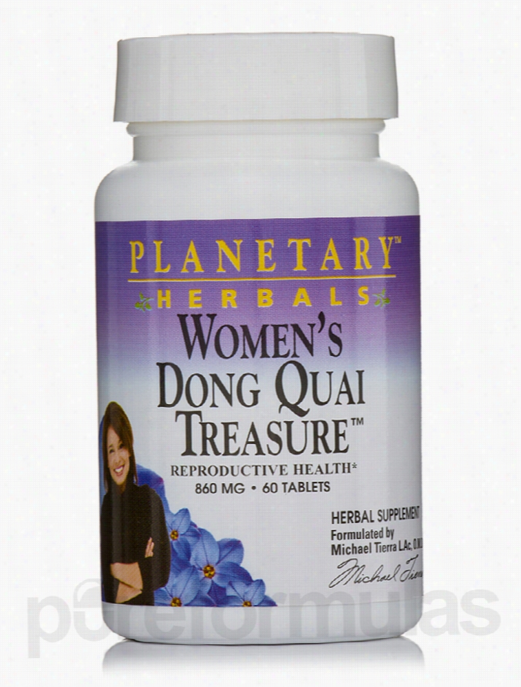 Planetary Herbals Herbals/Herbal Extracts - Women's Dong Quai Treasure