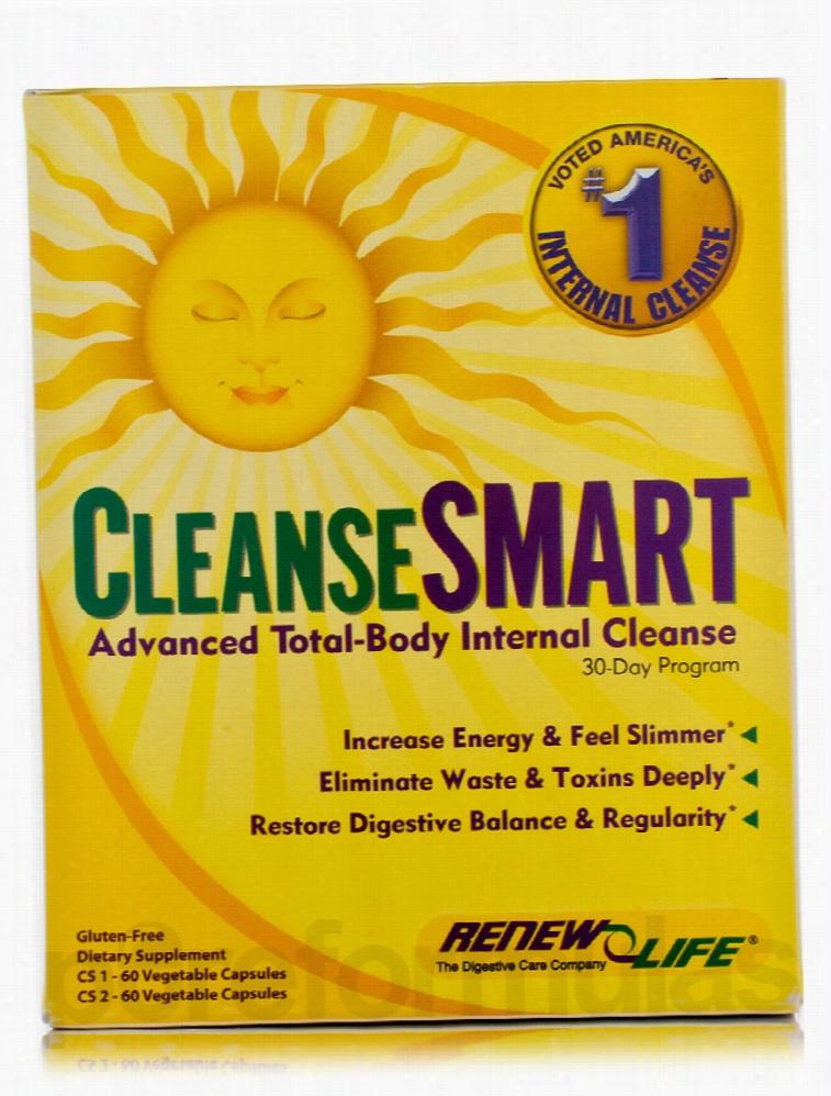 ReNew Life Detoxification - CleanseSmart - 2-Part Kit