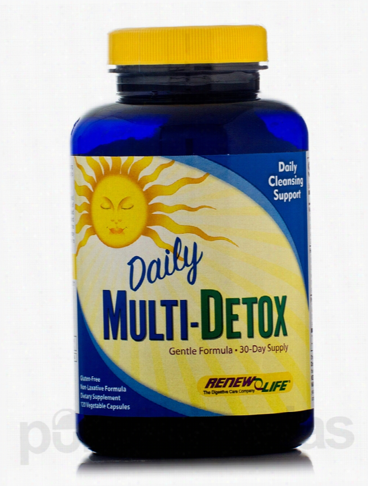 ReNew Life Detoxification - Daily Multi-Detox - 120 Vegetable Capsules