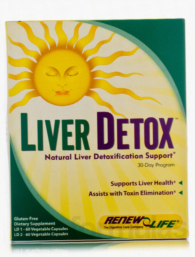 ReNew Life Detoxification - Liver Detox - 2-Part Kit