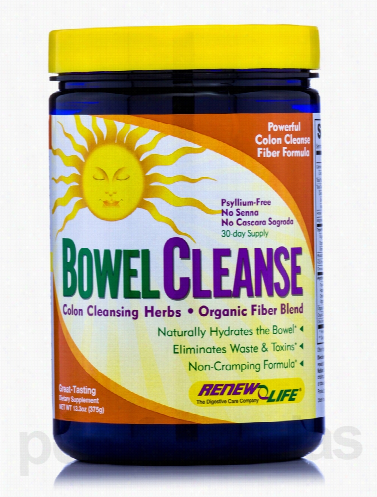 ReNew Life Detoxification - Organic Bowel Cleanse Powder - 13.3 oz