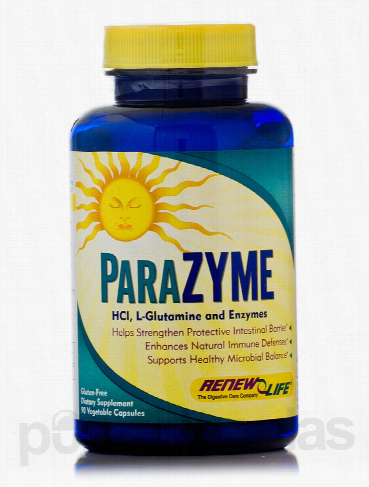 ReNew Life Gastrointestinal/Digestive - ParaZyme - 90 Vegetable