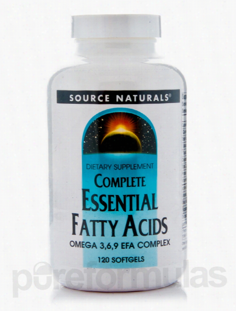 Source Naturals Essential Fatty Acids - Complete Essential Fatty Acid