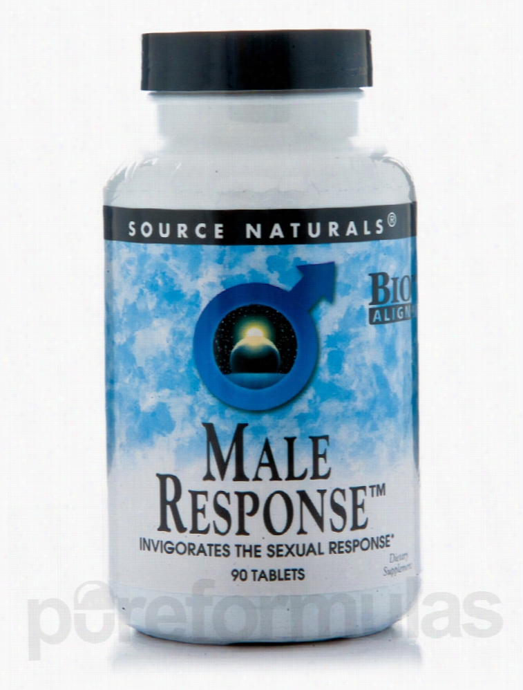 Source Naturals Hormone/Glandular Support - Male Response - 90 Tablets