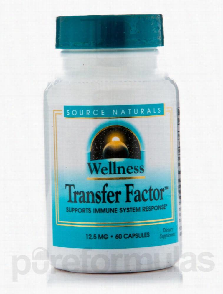 Source Naturals Immune Support - Wellness Transfer Factor - 60