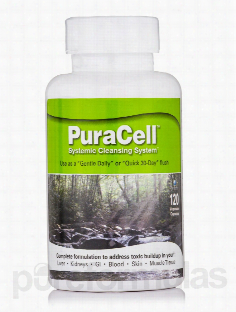World Nutrition Cellular Support - PuraCell - 120 Vegetable Capsules