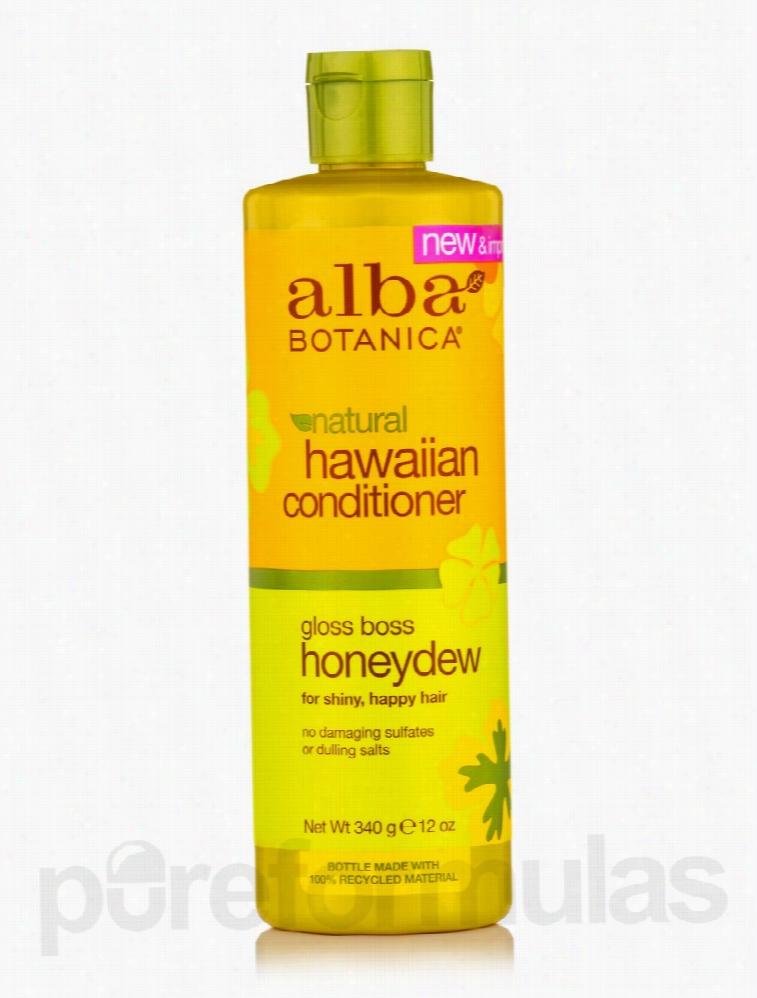 Alba Botanica Hair - Natural Hawaiian Conditioner Gloss Boss Honeydew