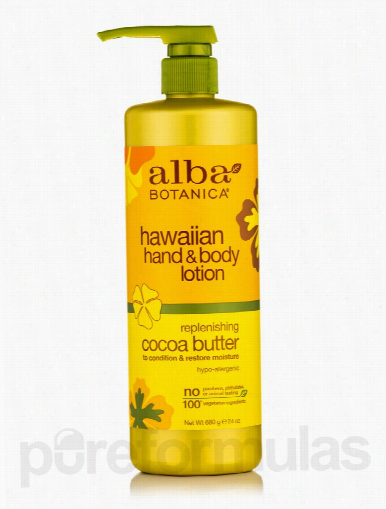 Alba Botanica Skin Care - Natural Hawaiian Hand & Body Lotion
