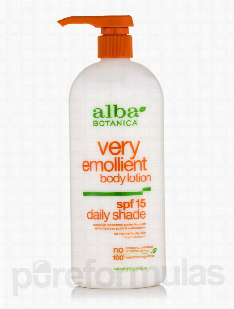 Alba Botanica Skin Care - Natural Very Emollient Body Lotion Daily