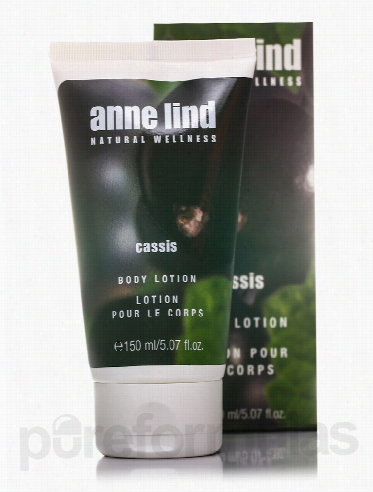 Annemarie Borlind Bath and Body - Anne Lind Body Lotion - Cassis -