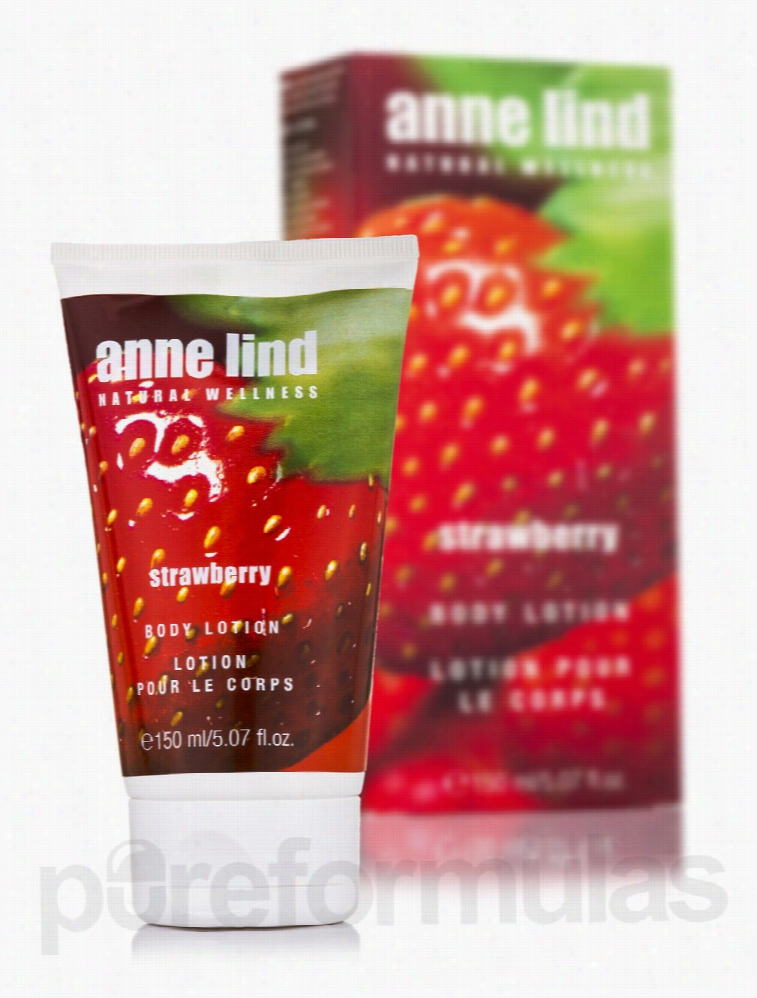 Annemarie Borlind Bath and Body - Anne Lind Body Lotion - Strawberry -