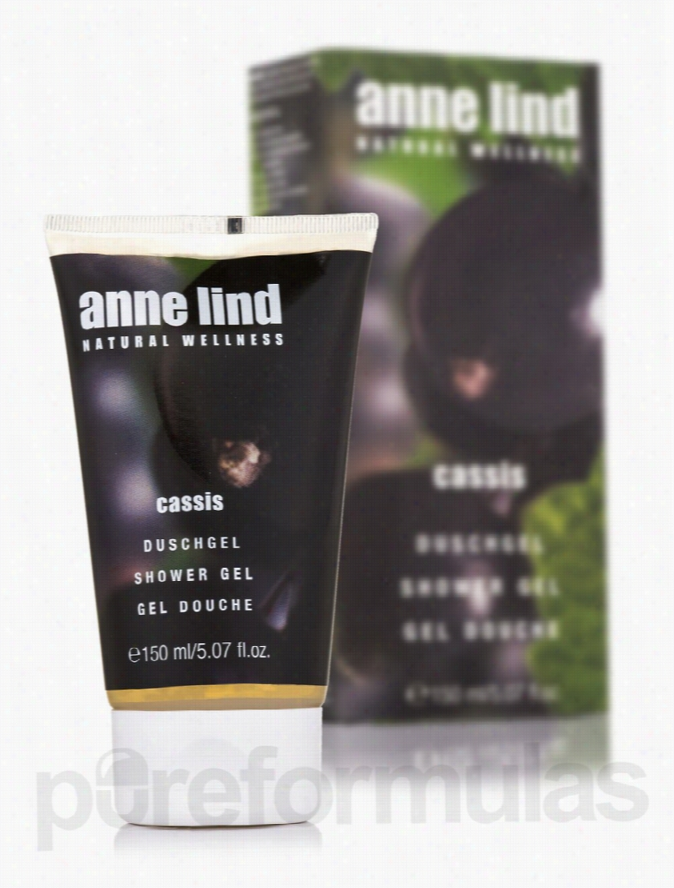 Annemarie Borlind Bath and Body - Anne Lind Shower Gel - Cassis - 5.07