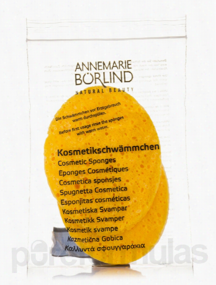Annemarie Borlind Makeup - Cosmetic Sponges - 2 Count