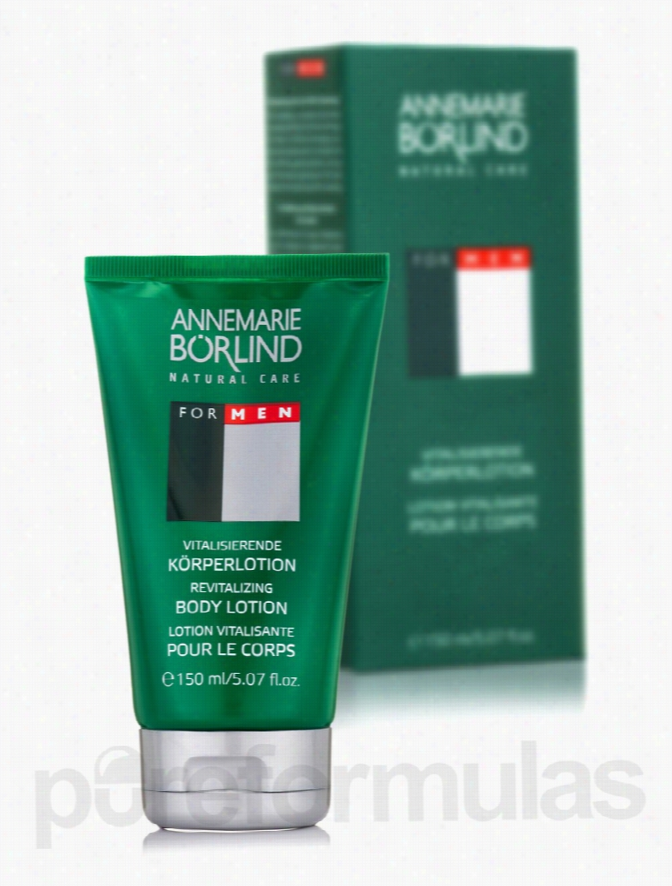 Annemarie Borlind Skin Care - For Men Revitalizing Body Lotion - 5.07