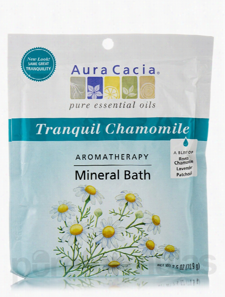 Aura Cacia Bath and Body - Tranquil Chamomile Aromatherapy Mineral