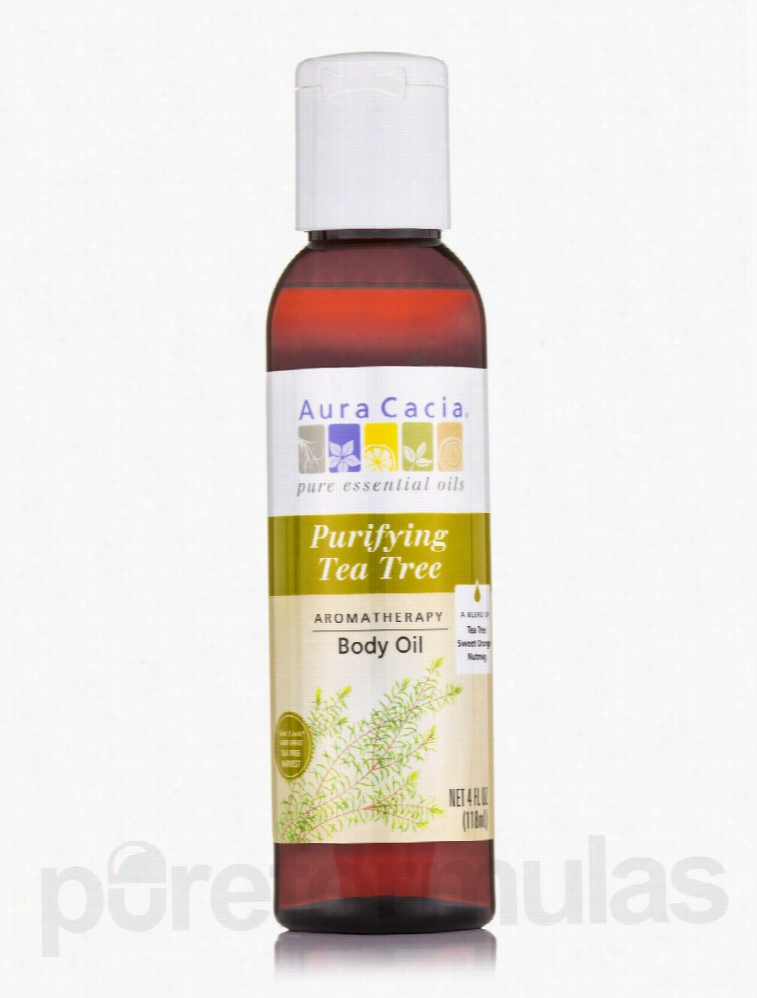 Aura Cacia Mood and Relaxation - Tea Tree Harvest Aromatherapy Body