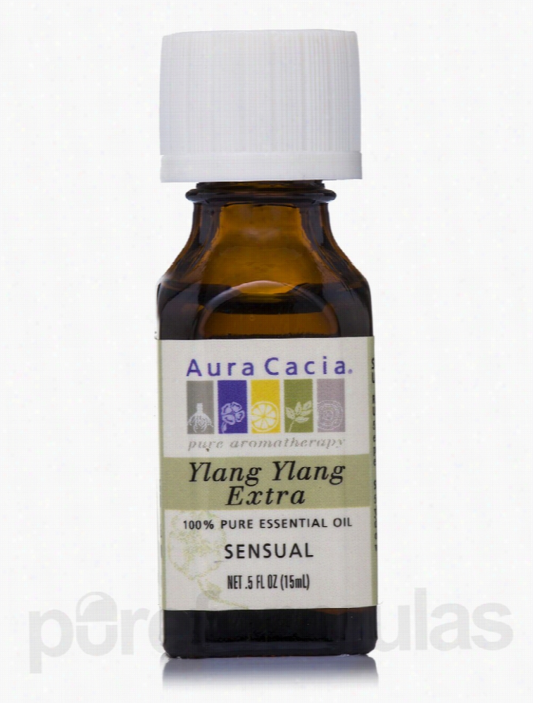 Aura Cacia Mood and Relaxation - Ylang Ylang (Extra) Essential Oil