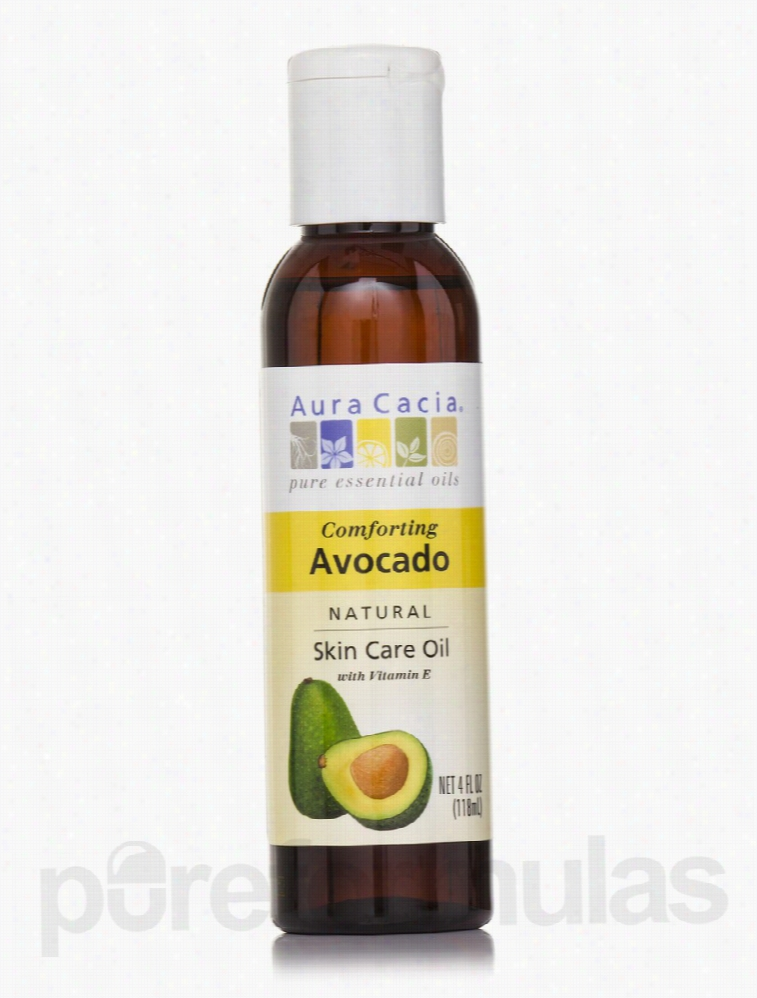 Aura Cacia Skin Care - Comforting Avocado Natural Skin Care Oil with