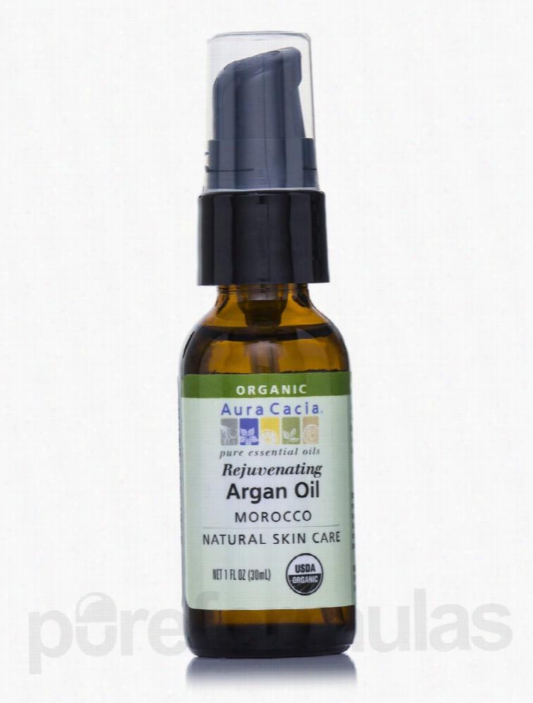 Aura Cacia Skin Care - Organic Argan Skin Care Oil - 1 fl. oz (30 ml)