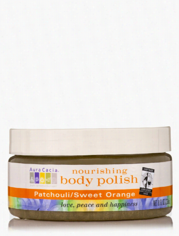 Aura Cacia Skin Care - Patchouli/Sweet Orange Nourishing Body Polish -