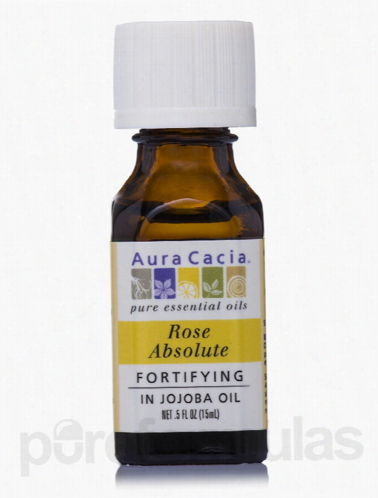 Aura Cacia Skin Care - Rose Absolute with Fortifying Jojoba Essential