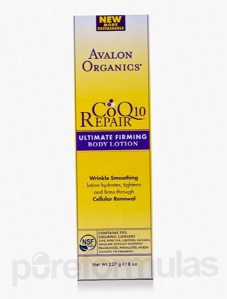Avalon Organics Skin Care - CoQ10 Repair Ultimate Firming Body Lotion
