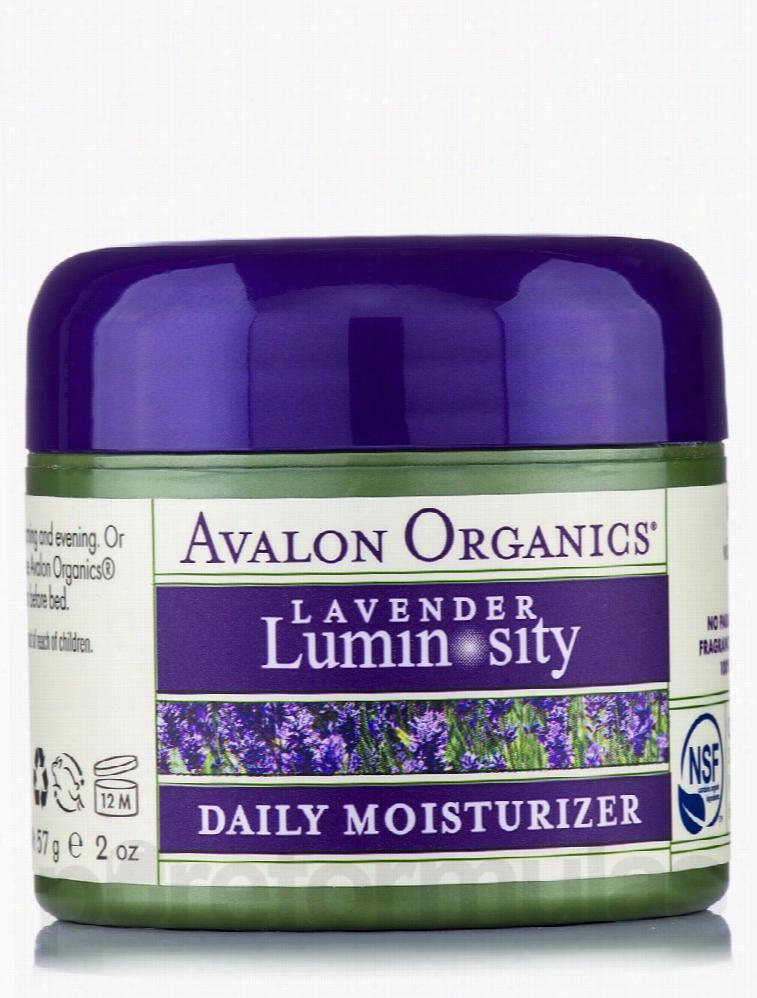 Avalon Organics Skin Care - Organic Lavender Daily Facial Moisturizer