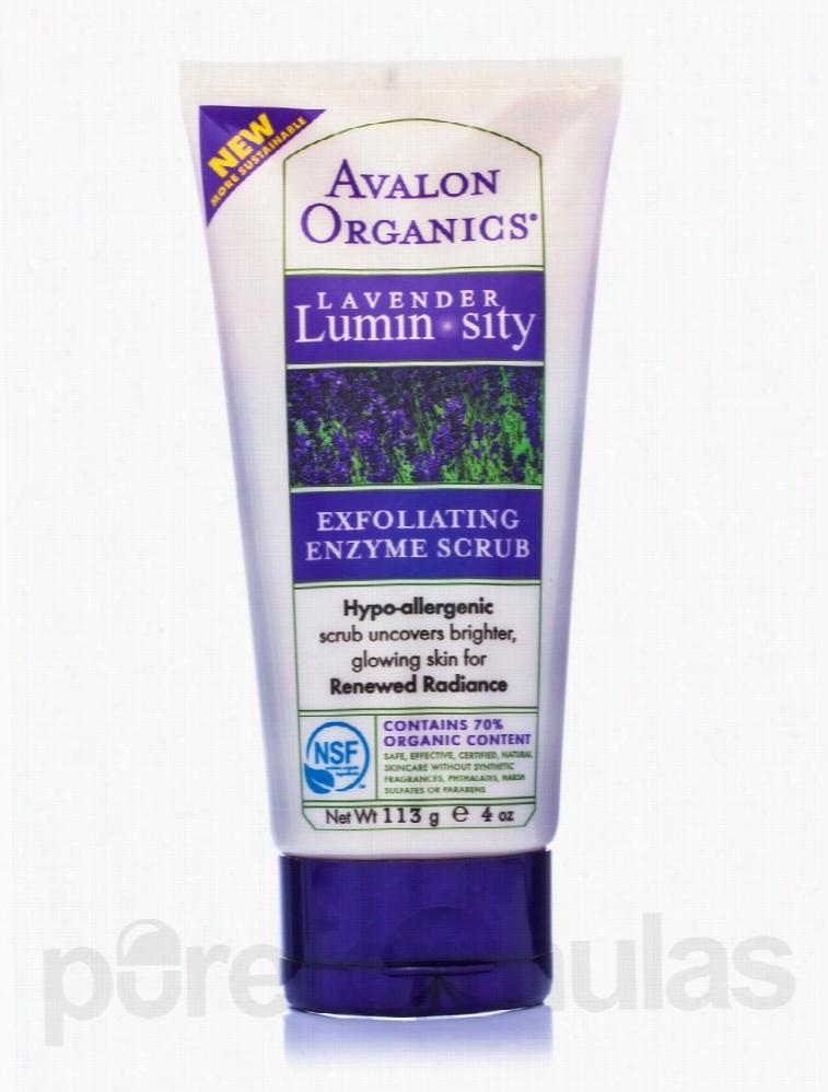 Avalon Organics Skin Care - Organic Lavender Exfoliating Enzyme Scrub