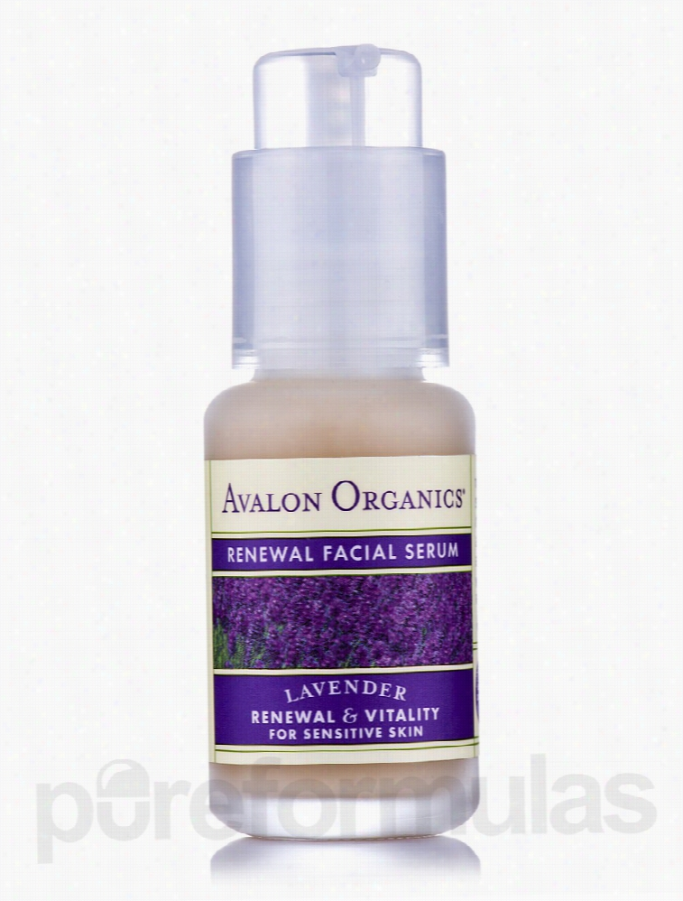 Avalon Organics Skin Care - Organic Renewal Facial Serum - 1 fl. oz