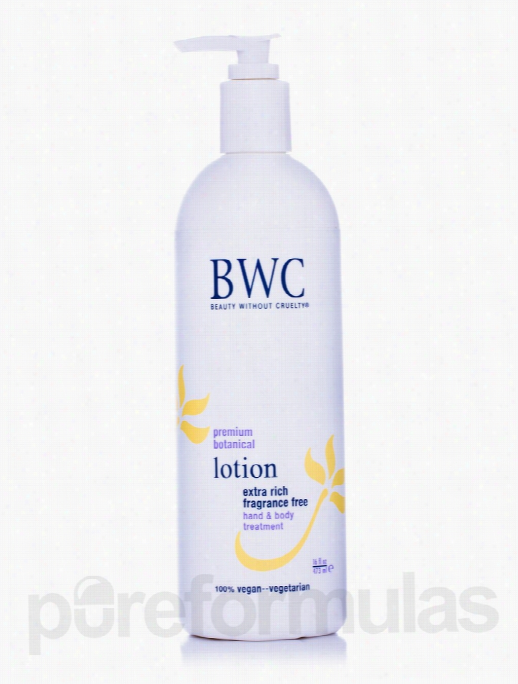 Beauty Without Cruelty Bath and Body - Extra Rich Fragrance Free Hand