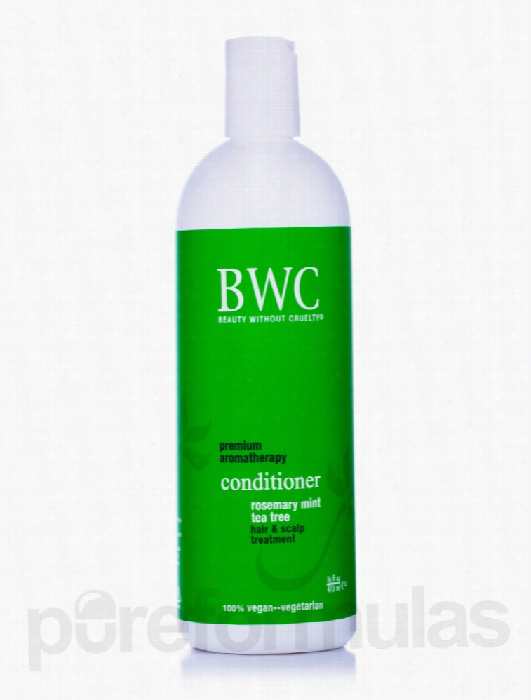 Beauty Without Cruelty Hair - Rosemary Mint Tea Tree Conditioner - 16