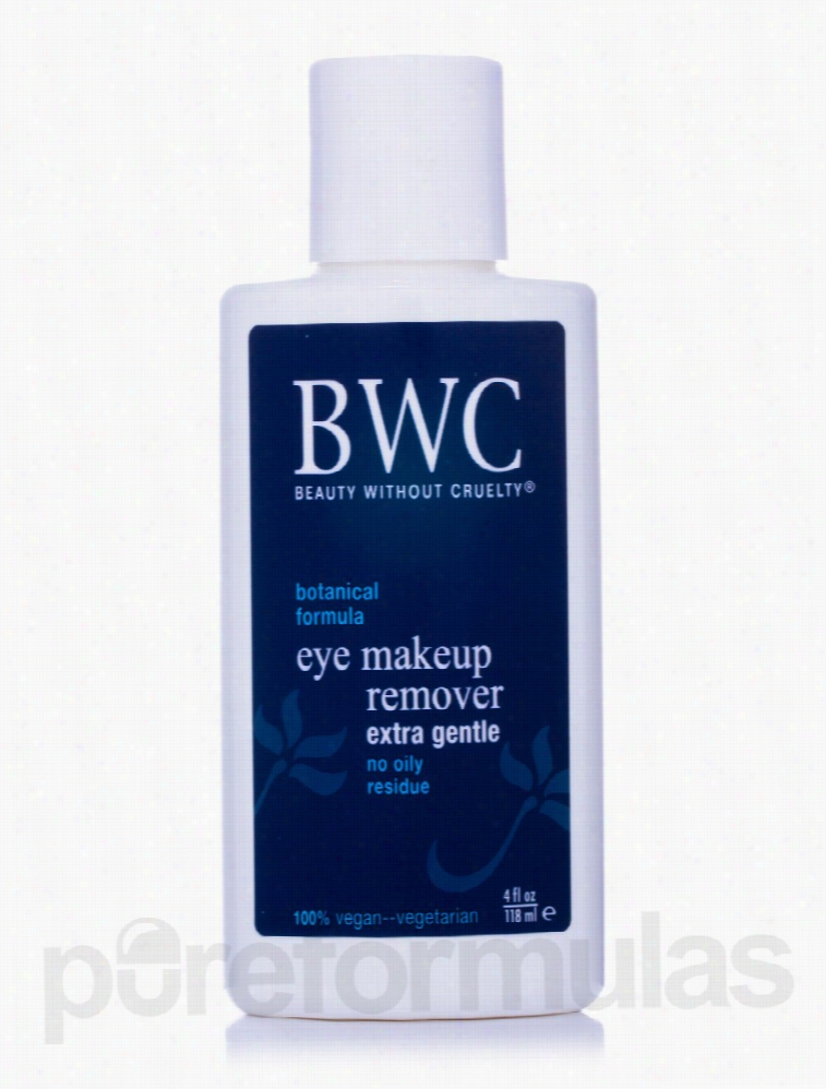 Beauty Without Cruelty Makeup - Extra Gentle Eye Makeup Remover - 4