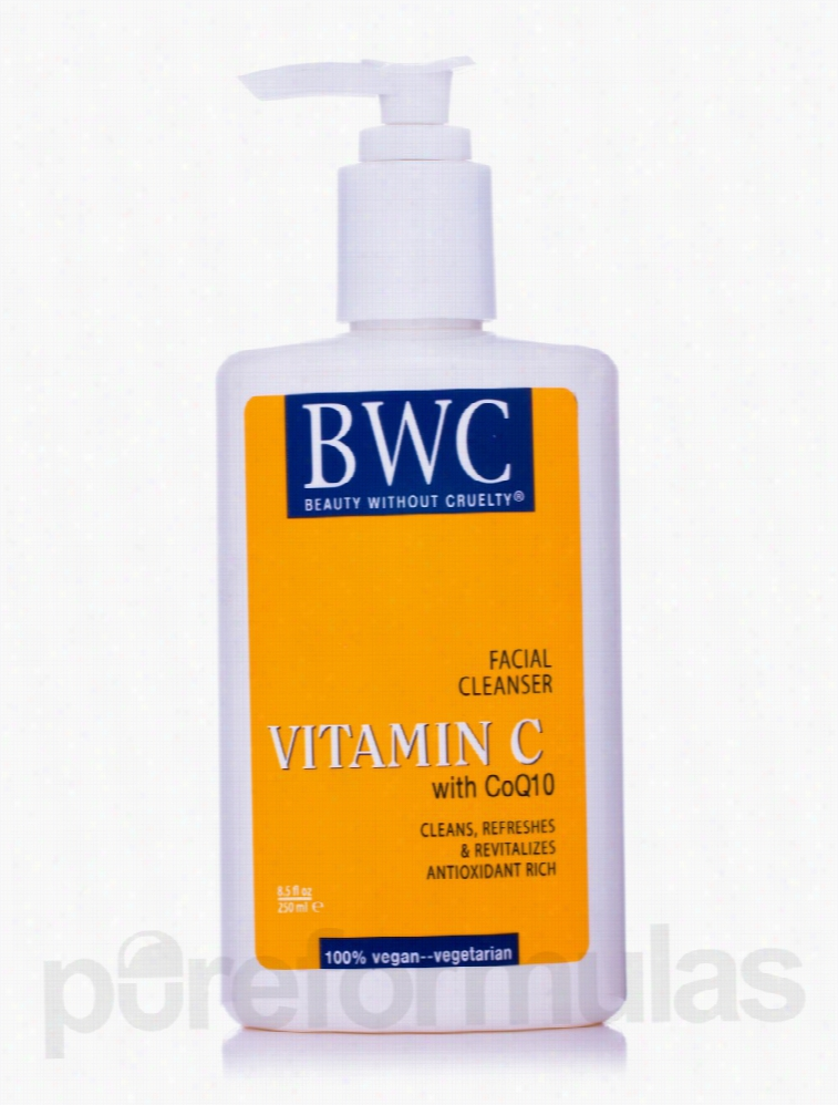 Beauty Without Cruelty Skin Care - Facial Cleanser Vitamin C With CoQ
