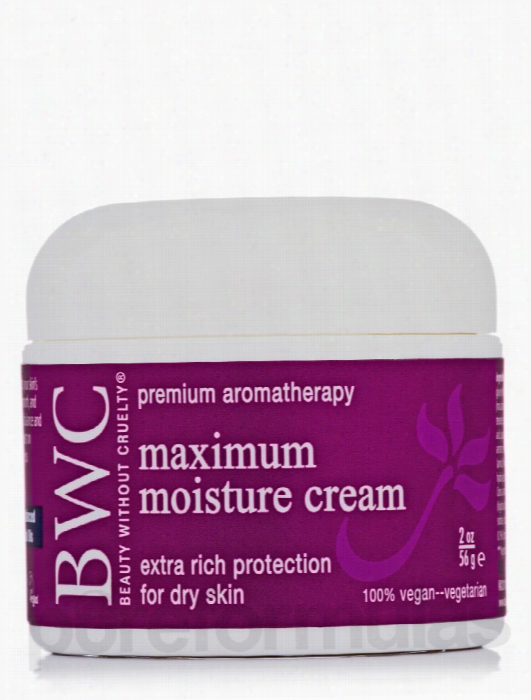 Beauty Without Cruelty Skin Care - Maximum Moisture Cream - 2 oz (56