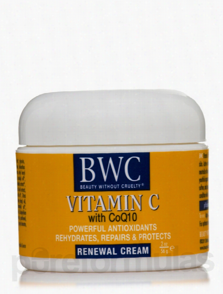 Beauty Without Cruelty Skin Care - Organic Vitamin C With CoQ 10