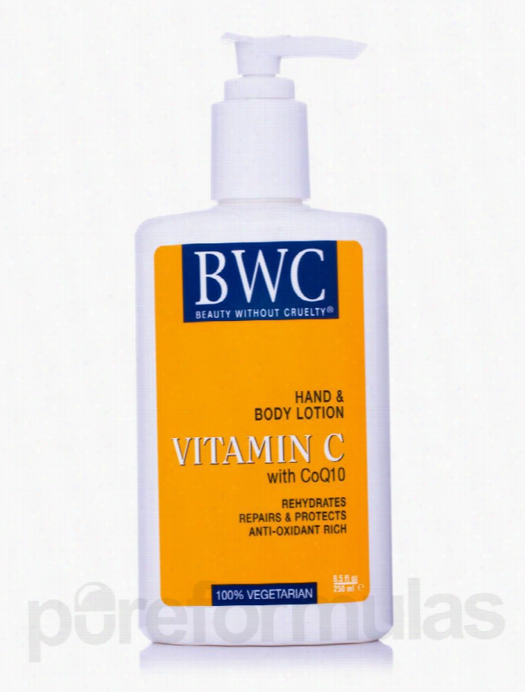 Beauty Without Cruelty Skin Care - Organic Vitamin C with CoQ10 Hand &