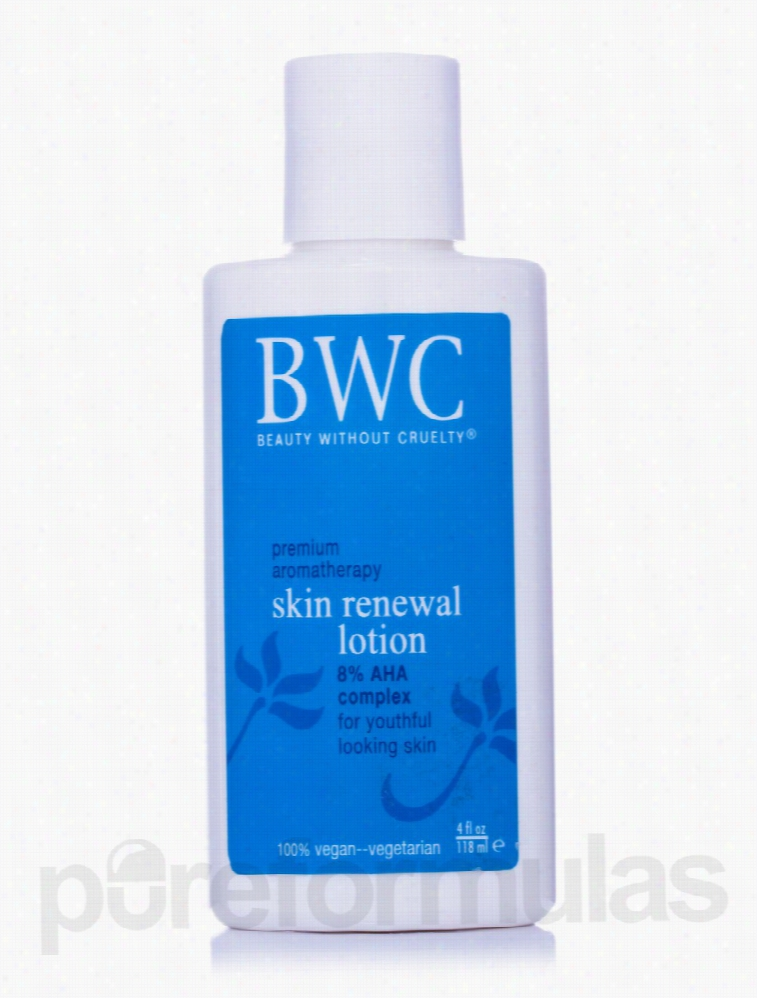 Beauty Without Cruelty Skin Care - Skin Renewal Lotion 8% AHA Complex