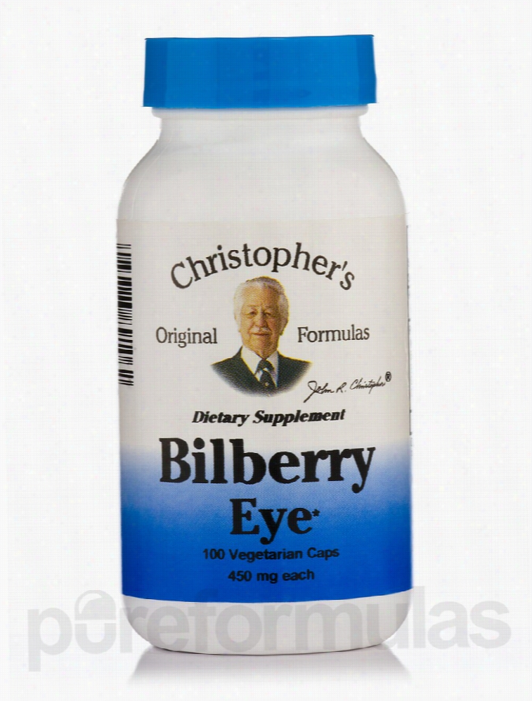 Christophers Original Formulas Herbals/Herbal Extracts - Bilberry Eye