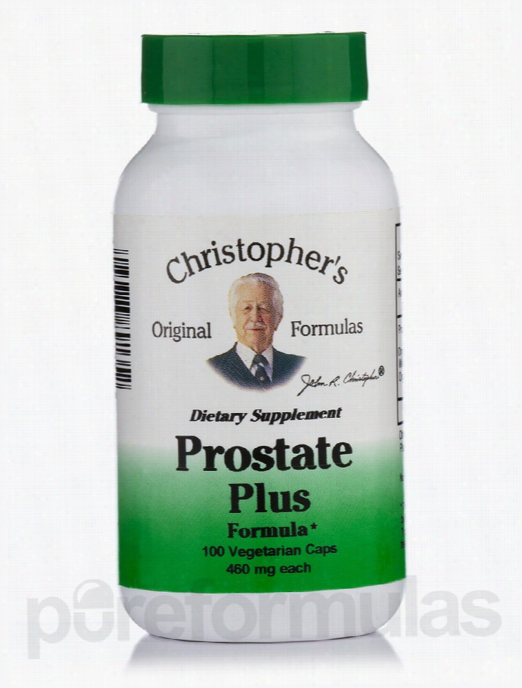 Christophers Original Formulas Herbals/Herbal Extracts - Prostate Plus